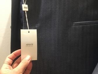Уникальное изображение  Продаю совершенно новый мужской классический костюм ARMANI р, 50-52 Маркировка р, 54 40520298 в Москве