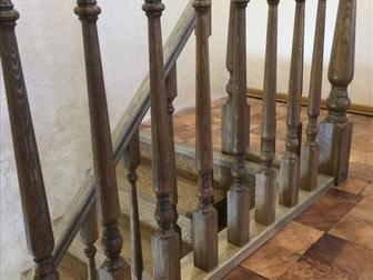 Увидеть foto  Лестница с разворотом на 180 градусов, с забежными ступенями от производителя 46464095 в Москве