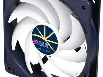 Увидеть фотографию Системы охлаждения для майнинг ферм Вентилятор TITAN TFD-12025H12ZP/KU(RB) KUKRI 49146634 в Москве