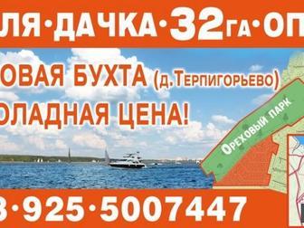 Уникальное изображение  Земля дачка на Пироговском водохранилище Терпигорьево 9,5 км от МКАД все коммуникации 51042593 в Москве