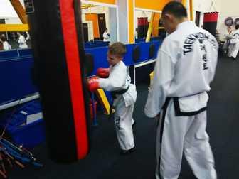Скачать бесплатно foto Спортивные школы и секции Набор в детскую секцию по Тхэквондо ITF 68007225 в Москве