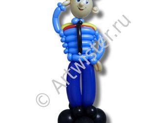 Уникальное изображение  Фигуры из воздушных шаров на заказ 68846110 в Москве