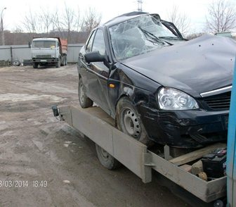 Фотография в   Продаю ваз лада приора битый не на ходу двигатель в Москве 37000