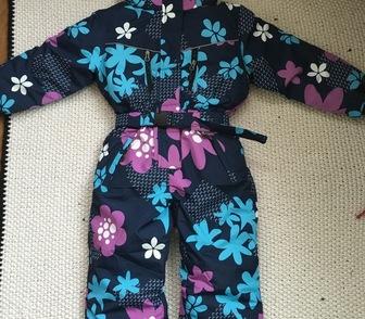 Изображение в Для детей Детская одежда Комбинезон на молнии с ветрозащитной планкой в Новосибирске 3200