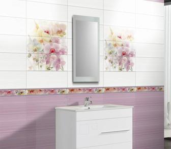 Фото в   Предлагаю нежно-лиловую плитку для ванной в Москве 0