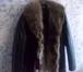 Foto в   Кожаная куртка Италия мех волка, новая, размер в Москве 13500