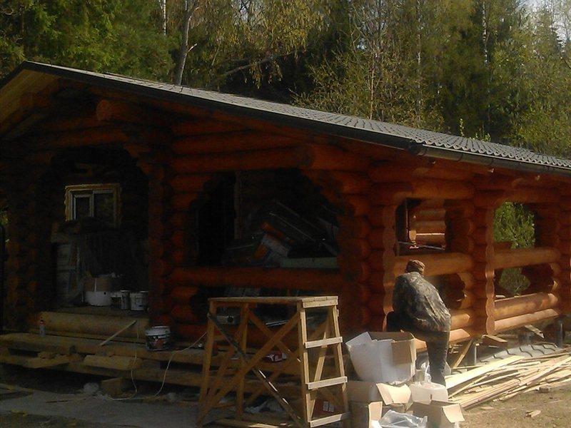 Шлифовка деревянных домов москва