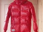 Изображение в  Отдам даром - приму в дар Красивая красная куртка с капюшоном для девочки в Муроме 700