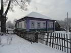 Уникальное фото Загородные дома Бревенчатый дом в жилом селе, с хорошим подъездом, недалеко от реки 39268231 в Мышкине