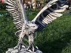 Скачать изображение Мебель для дачи и сада Скульптура из бетона Орел выс, 1м, вес 80 кг, 38379063 в Мытищи