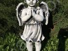 Смотреть foto Мебель для дачи и сада Скульптуры из бетона Ангел выс, 50 см, пр, Беларусь 38395518 в Мытищи