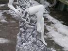 Скачать изображение Мебель для дачи и сада Фонтан бетонный Девушка на камне пр, Беларусь 2 м, 200 кг, 38404207 в Мытищи