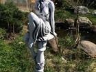 Новое изображение Мебель для дачи и сада Скульптура из бетона Девушка на подиуме 54 см, Ф43 см, 38790127 в Мытищи