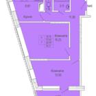 2-х комнатная квартира, улица Советская, дом 7 , площадь 60,91, этаж 3