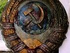 Фотография в Хобби и увлечения Антиквариат Для ценителей советских времен. Литой герб в Нальчике 20000