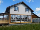 Новое фото Загородные дома Дом с панорамными окнами ,гаражом ,маг, газом Киевское Минское шоссе 67378972 в Наро-Фоминске