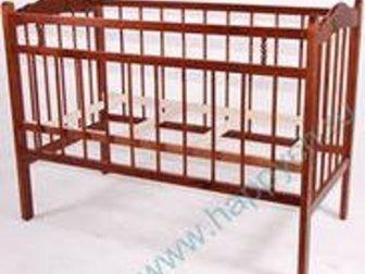 Уникальное изображение Детская мебель Детская кроватка с матрасиком 29269286 в Нижнекамске