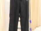 Изображение в Одежда и обувь, аксессуары Мужская одежда Серые школьные брюки. Новые. Размер 34, рост в Нижневартовске 1200