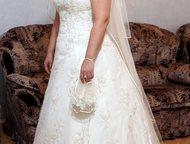 Продам свадебное платье Продается красивое свадебное платье от дизайнера, расшит