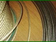 Трос стальной в пвх Тросы стальные в пвх оболочке 3мм;4мм;5мм.