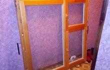 Окно, деревянный стеклопакет