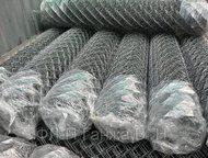 сетка рабица в ногинске с доставкой Сетка рабица оцинкованная, проволока 1, 6мм,