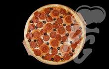 Доставка пиццы Дабл Пепперони в Новосибирске - Papa Goga