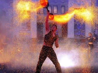 Смотреть фото  огненное шоу на свадьбу новокузнецк 60495844 в Новокузнецке