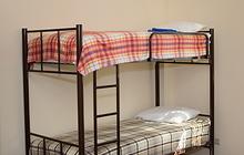 Двухъярусные кровати односпальные на металлокаркасе новые