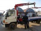 Свежее фотографию Эвакуатор Hyundai 78 со сдвижной платформой и КМУ 32776820 в Новосибирске