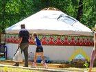 Скачать фото Товары для туризма и отдыха Юрты настоящие монгольские, казахские, сибирские таежные 34772556 в Новосибирске