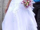 Изображение в Одежда и обувь, аксессуары Свадебные платья нежное свадебное платье, в отличном состоянии в Новосибирске 10000