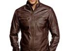 Свежее изображение  Мужская кожаная куртка 37533168 в Новосибирске