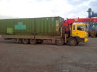 Свежее foto  Услуги самогруза борт 9, 5м,г/п 13тн,кран 7тн,перевозка негабарита, 37605988 в Новосибирске
