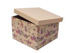 Фотография в   Подарочная квадратная коробка Розы крафт в Новосибирске 150