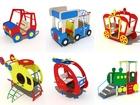 Увидеть фото Разное Машинка для детской площадки 39000400 в Барнауле