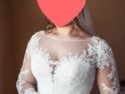 Свежее foto Свадебные платья Шикарное Свадебное платье Gabbiano Ветта и фата 39231418 в Новосибирске