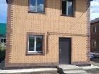 Скачать бесплатно фото  Собственник (застройщик) продает новый 2-х этажный коттедж - 132 м2 71343396 в Новосибирске