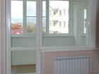 Пластиковые и алюминиевые балконы, окна 2050*2100