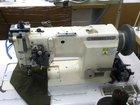 Двухигольная швейная машина hoseki с отключением и