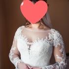 Шикарное Свадебное платье Gabbiano Ветта и фата
