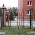 Металлические заборы/железные ограждения под ключ в Новосибирске