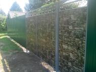 Заборы Ворота Калитки Изготовление и установка заборов, ворот и калиток из профл