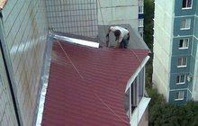 Утепление швов пластиковых окон, Герметизация стеклопакетов, козырьков балконов