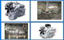 Двигатели ЯМЗ-236, ЯМЗ-236 не турбо, ЯМЗ-238 и КПП с хранения