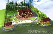 Генплан земельного участка, ландшафтный дизайн
