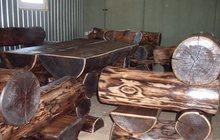 Мебель ручной рубки