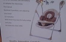 Кресло-качалка Electric swing BT-SC-001