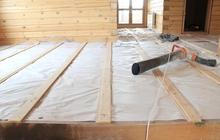 Монтаж деревянных полов под ключ