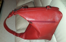 Стильная кожаная дамская сумка